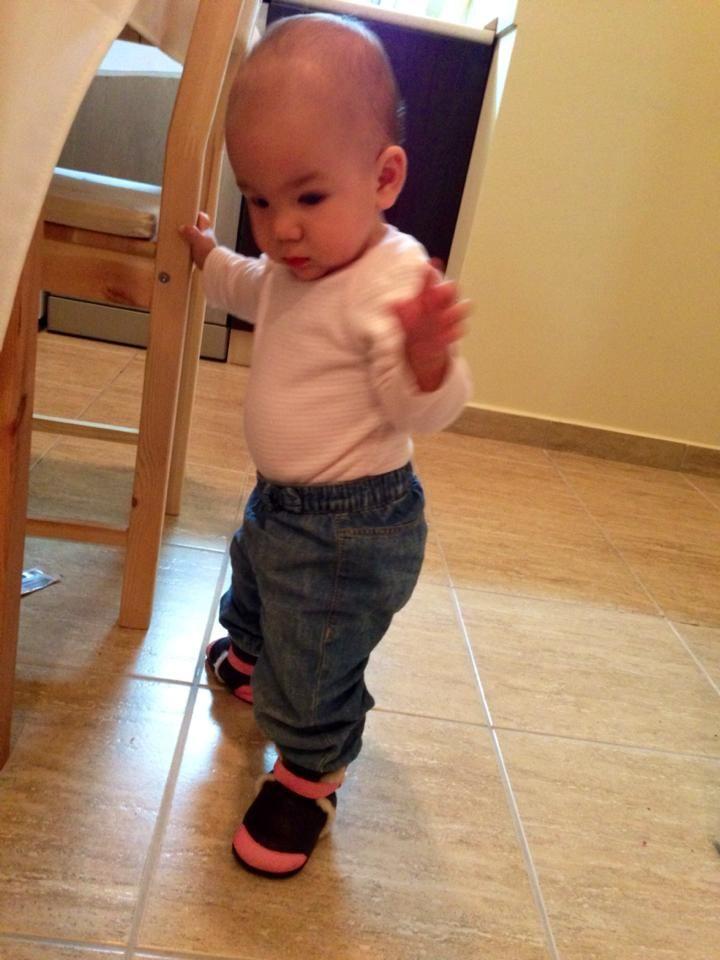 from :Sara Olah Meszaros #babyshoes #liliputi #softleather