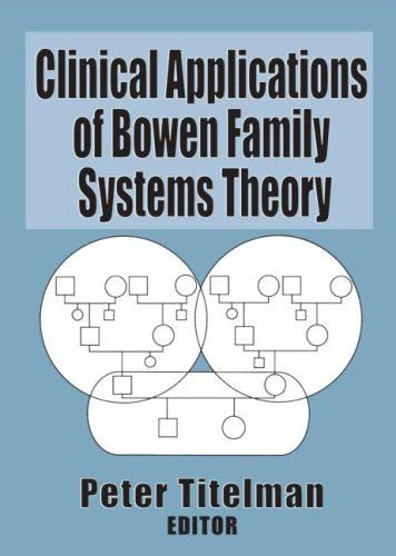 Clinical Applications of Bowen Family Systems Theory (Haworth Marriage and the Family) by Peter Titelman,http://www.amazon.com/dp/0789004690/ref=cm_sw_r_pi_dp_C1lGtb0Z48G98QCH