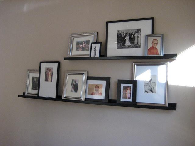 13 best picture ledge arrangement images on pinterest for Ikea ribba plank