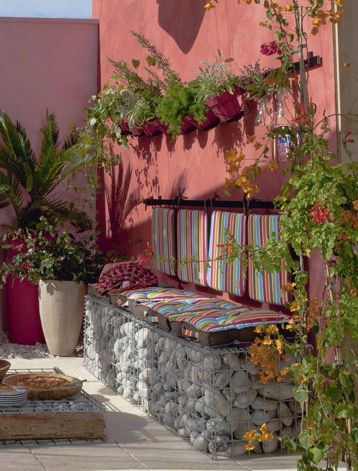 VM designblogg: Φθηνή Διακόσμηση στη Βεράντα και τον Κήπο