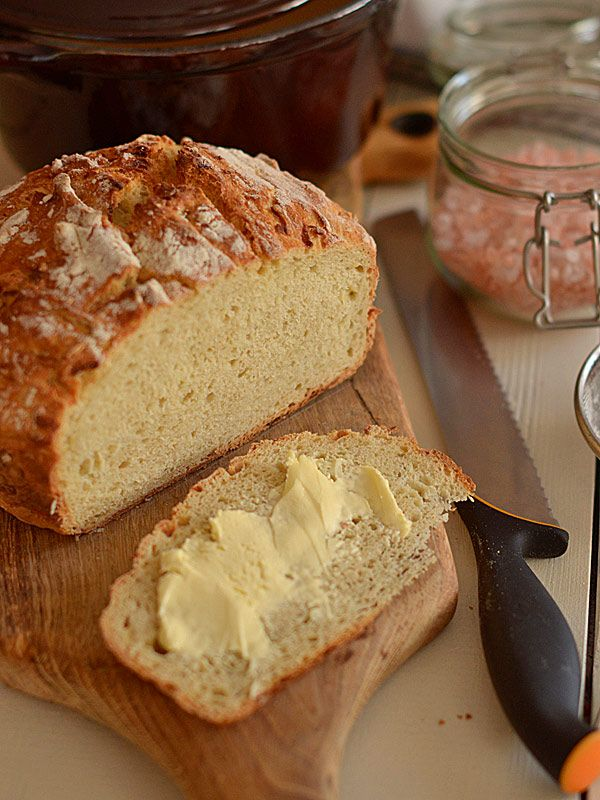 Chleb pszenno-owsiany z jabłkiem   www.mniammniam.pl
