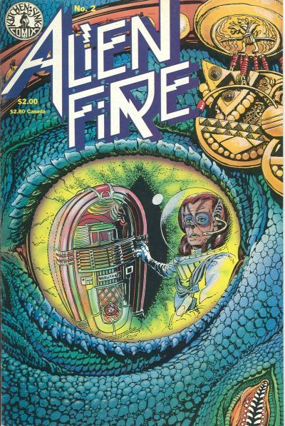 Alien Fire (Kitchen Sink Press) #2 (March 1987) by Anthony Smith and Erik Vincent