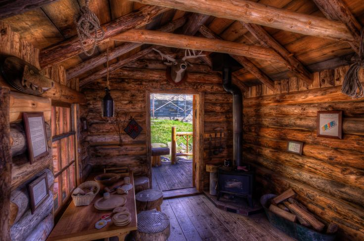 Inside views of an adirondack cabin adirondacks for Adirondack cabin builders