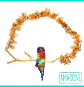 Alegría, gusto y autenticidad es lo que reflejarás usando nuestro #collarguacamaya!