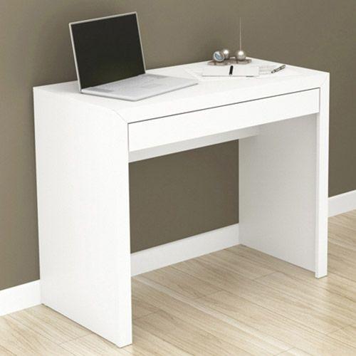 Mesa para Escritório ME4107 Branco - Tecno Mobili