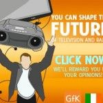 You can help shape the future of Irish TV and Radio by completing this opinion survey and you will be entered into a competition to win €500 Cash! You can also earn vouchers, just by completing the survey.