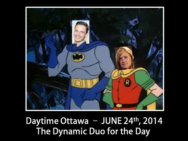 Daytime Ottawa will never know what hit them! Good Luck Kirsten.