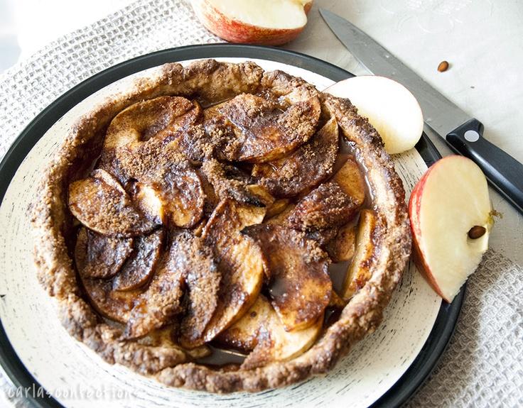 Apple Tart.: Vegans Apples, Apples Pies, Tarts Vegans, Apples Tarts, Baking Apples, Delicious Vegans, Shorts Eating Desserts, Carla Confect, Vegans Desserts
