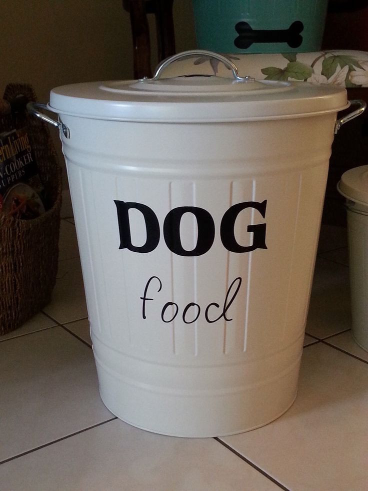 1000 ideas about dog food containers on pinterest dog. Black Bedroom Furniture Sets. Home Design Ideas