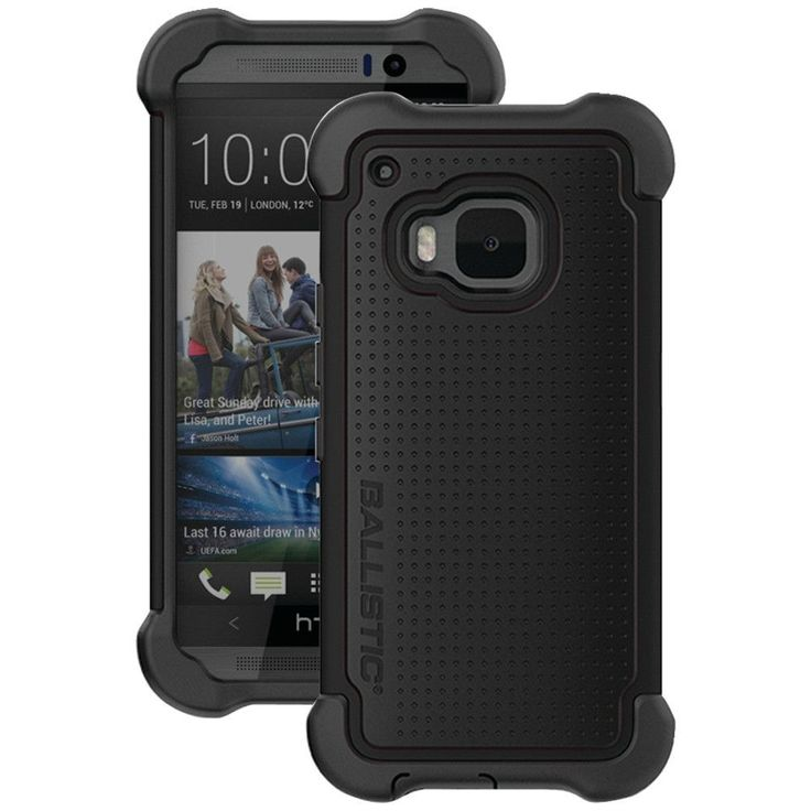Ballistic Htc One (m9) Tough Jacket Maxx Case With Holster