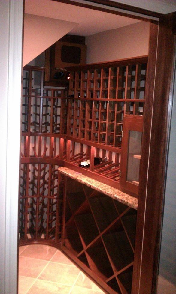 Custom Wine Cellar With Humidor Baltimore, Maryland. Coastal Custom Wine  Cellars 2708 Leppo Ln