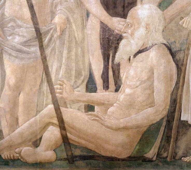 Piero della Francesca, Death of Adam (detail), fresco, Basilica di San Francesco, Arezzo