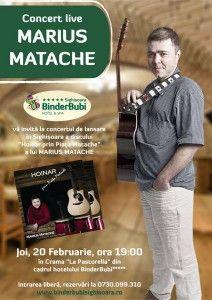 Joi, 20 februarie, Crama Pastorella - Hotel BinderBubi, Sighisoara