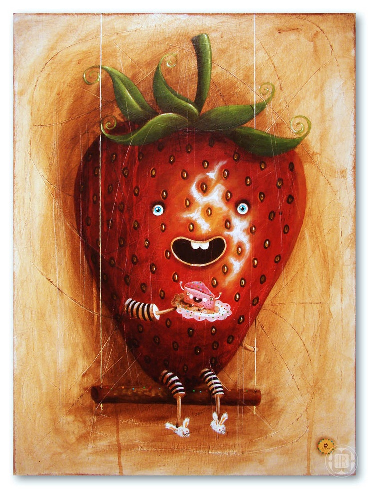 strawberry  http://pantonedesign.blogspot.com/