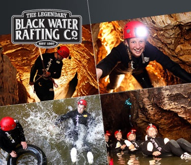 Black water rafting in New Zealand, one of the coolest experiences ever!