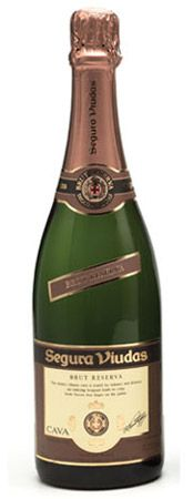 Segura Viudas - Brut Cava is a sparkling wine and is crisp and dry.  For the price, it's unbeatable for the flavor.  Priced anywhere from $6.99 to $12.99 depending upon where you shop.