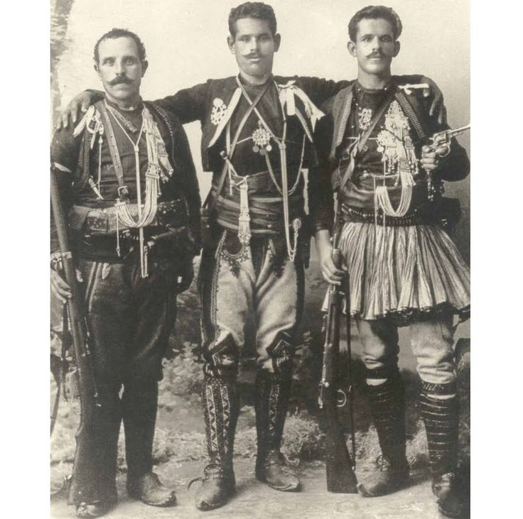 Doyiamas Brothers - Dimitrios-Lazaros-Georgios    All took up arms to fight for their family & for the #liberation of historical #Macedonia from foreign occupation