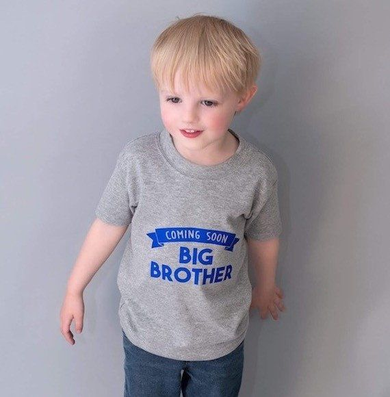 Big Brother Shirt, big brother outfit, big brother coming soon, new sibling, sibling announcement outfit