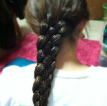 i LOVE 4 strand braids!