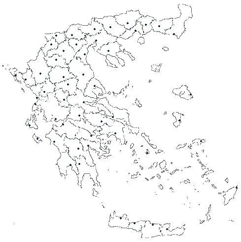 Παιχνίδια Πάζλ - Το Πάζλ των Νομών (Εύκολη έκδοση) στο mykosmos.gr