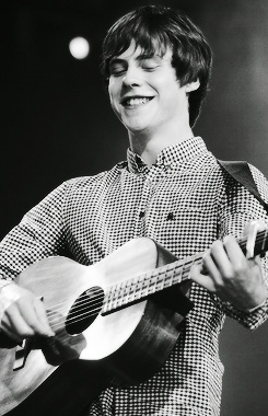 I love it when he smiles <3