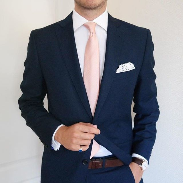 Nice pink tie
