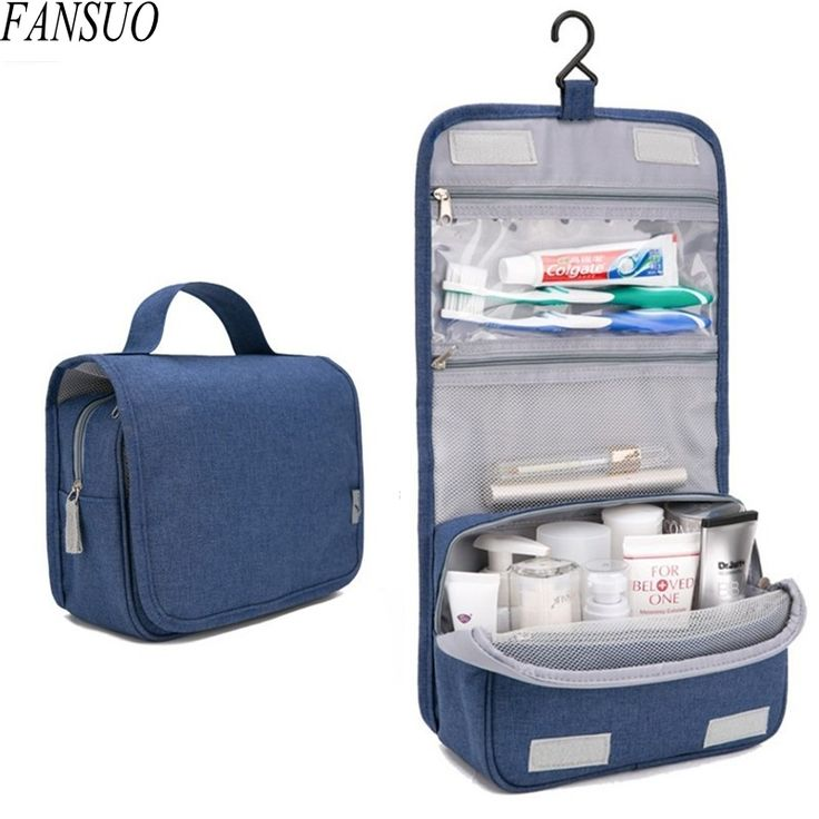 Cosmetic Bags Cases  Women Travel Portable Beautician Cosmetic Bags Men High Qua…