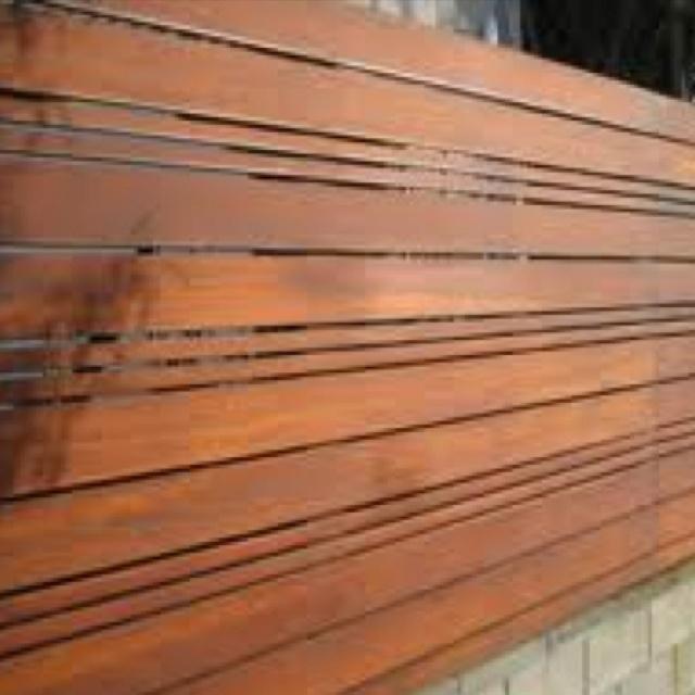 Horizontal Fence Diy: 35 Best Modern Horizontal Fence Images On Pinterest