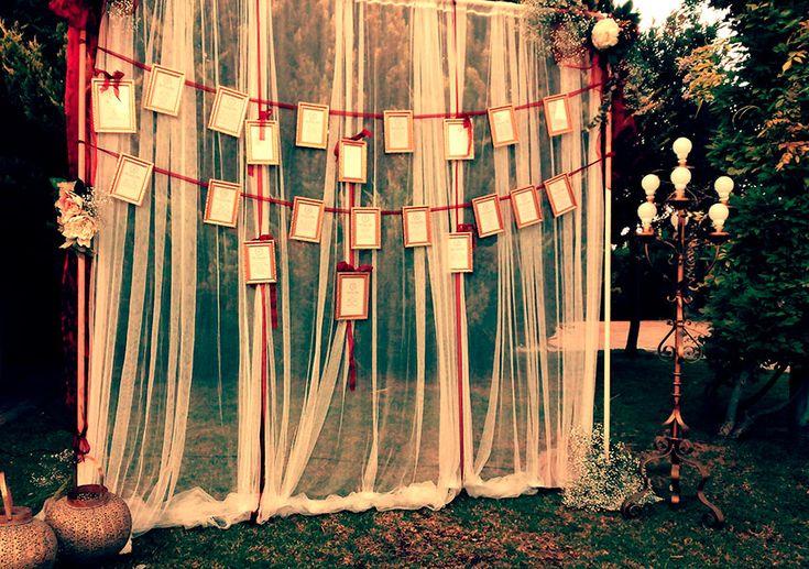 seating de boda