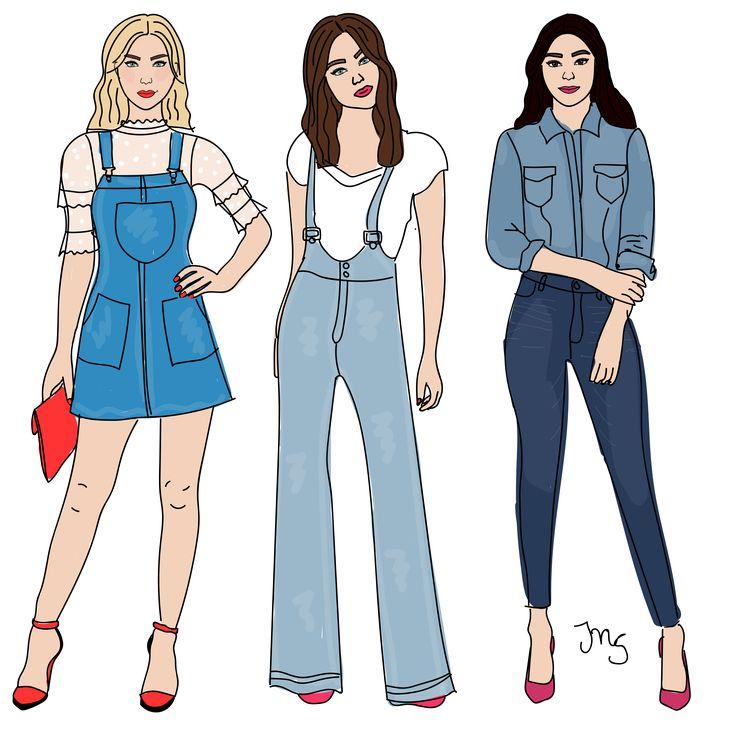 Ik ben echt stapelgek op denim. Denim jurkjes, denim blouse, denim tuinpak. Welke van de drie zou jij kiezen?