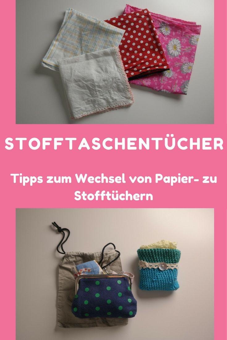 Weniger Müll, ein Schritt gen Zero Waste? Nutze Stofftaschentücher, ich gebe dir Tipps zum Wechsel weg von Papiertaschentüchern.
