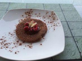 Panqueques avena y cacao Ingredientes 1/2 taza Harina de avena integral 200 cc Leche liquida descremada 1 Huevo 2 cucharaditas Cacao sin azúcar Endulzante a gusto
