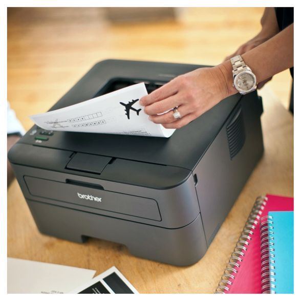Brother Hl L2340dw Compact Wireless Monochrome Laser Printer With Duplex Printing Black Hll2340dw In 2020 Laser Printer Printer Legal Size Paper