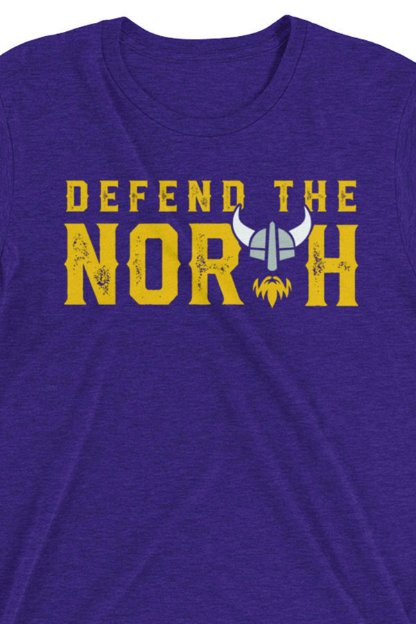 55f66ee8f4b Defend The North T-Shirt: We love the Vikings! If you love the ...