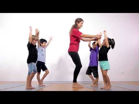 20 Minute Yoga Class for Kids | Ages 3-5 - YouTube