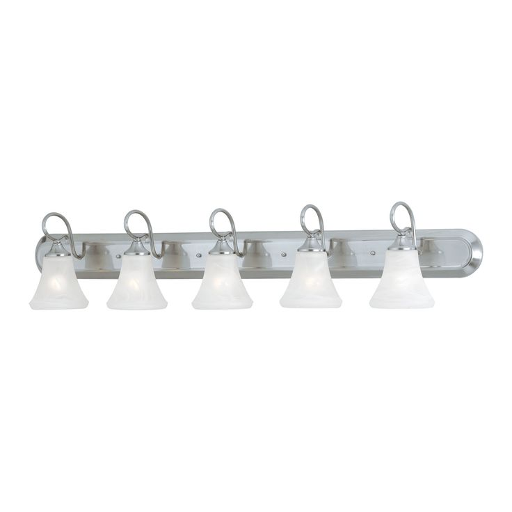 Thomas Lighting SL744578 Elipse Collection Brushed Nickel Finish Transitional Wall Sconce