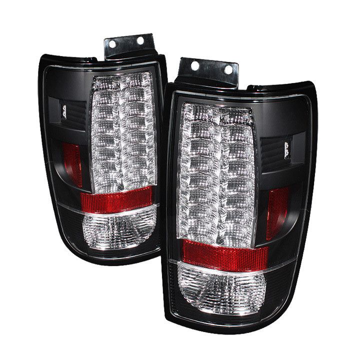 ( Spyder ) Ford Expedition 97-02 Version 2 LED Tail Lights - Black