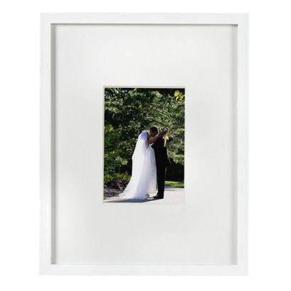 Room Essentials® Wide-Mat Frame - White 5x7