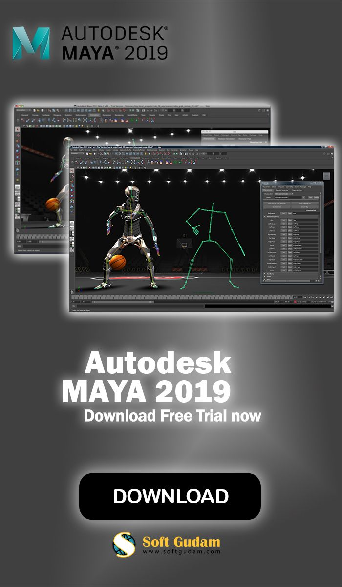 Autodesk Maya Is A Leading 3d Computer Graphics And Animation