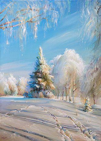 Winter Day----by Romanov Roman   400 х 600