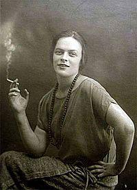 Татьяна Пельтцер. 1920-е годы