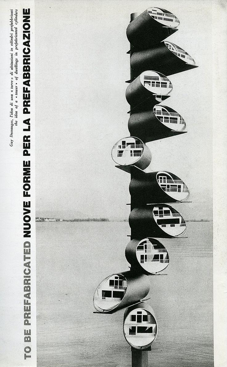 Guy Dessauges. Domus 443 October 1965: 21