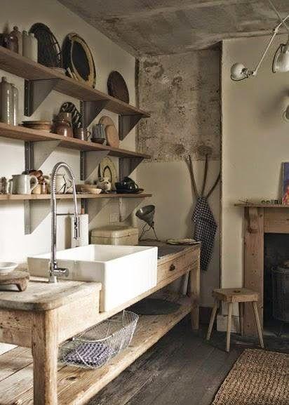 EN MI ESPACIO VITAL: Muebles Recuperados y Decoración Vintage: Una granja con tienda en Inglaterra { A store in an English barn }