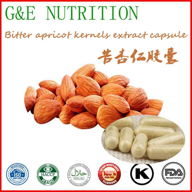 Manufacturer supply bitter apricot kernel extract capsule 500mg*800pcs
