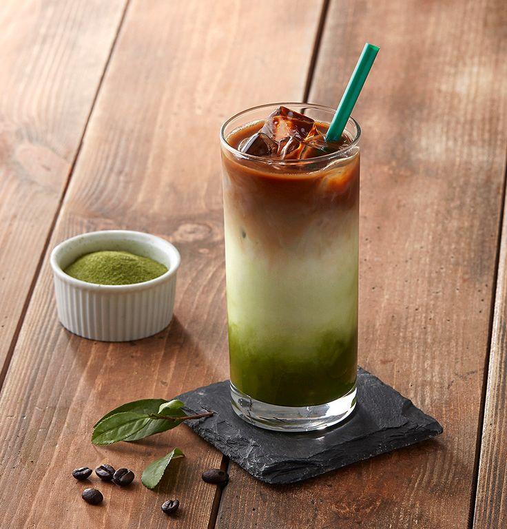 아이스 샷 그린티 라떼  Iced Shot Green Tea Latte - Starbucks Korea