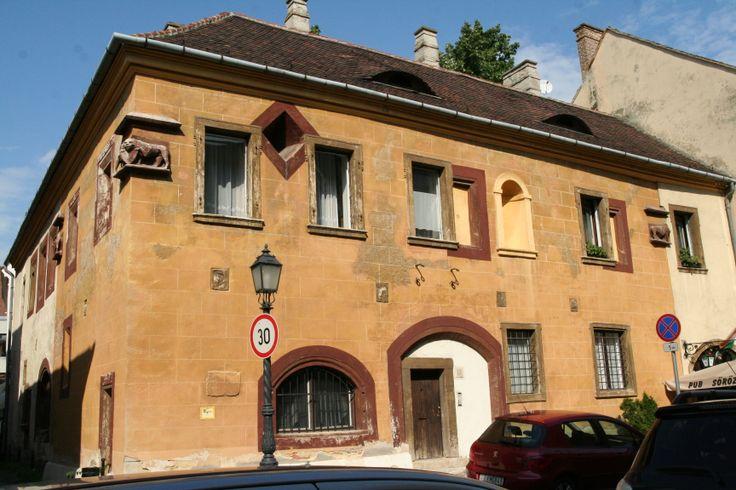 a historic building in Buda Castle
