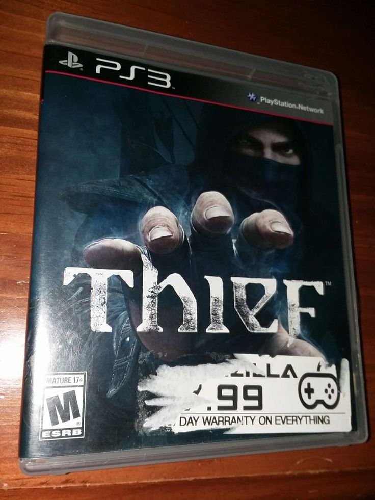 THIEF PS3 Game PlayStation 3 Complete