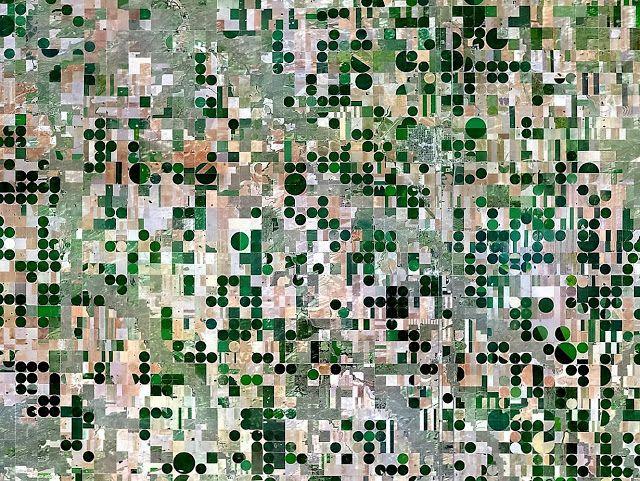 Irrigatie in Kansas (VS)