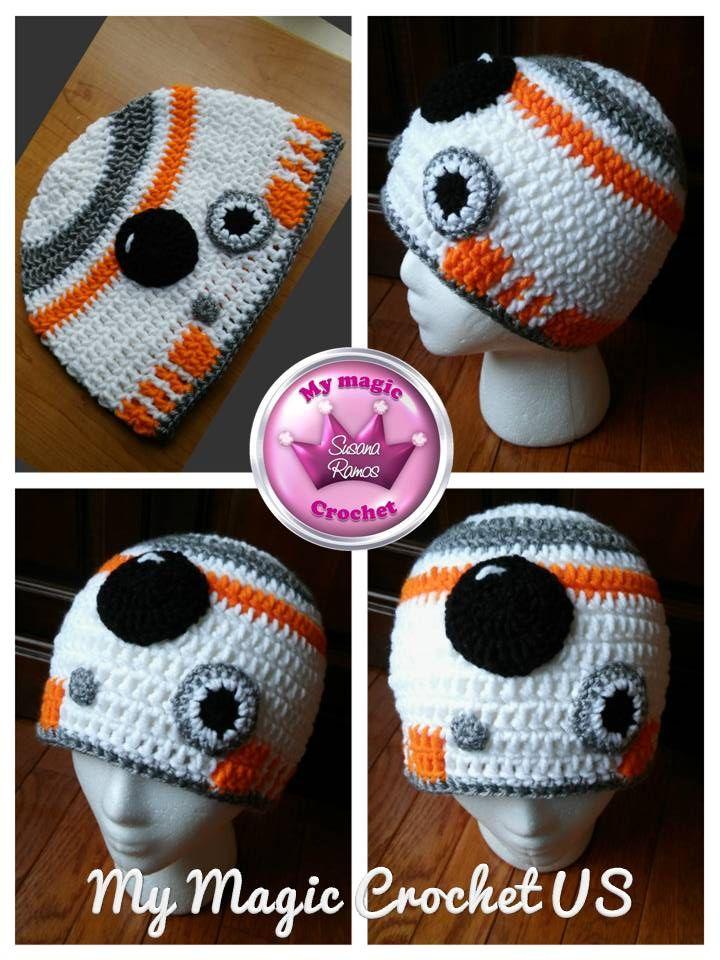 BB-8 Crochet Hat