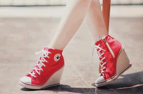 converse heels   Tumblr